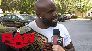 Apollo Crews out to prove he's the real United States Champion: WWE Network Exclusive, Aug, 3, 2020
