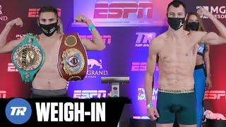Jose Ramirez & Viktor Postol Make Weight! Unified Championship Fight Official | FULL WEIGH- IN