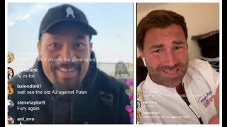 'I LIKE THE WHYTE & RUIZ REMATCHES' - EDDIE HEARN TO JOSEPH PARKER / TALK VIRAL LOVE ACTUALLY VIDEOS