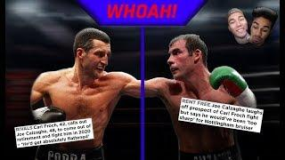 WHAT WOULD HAPPEN IF CARL FROCH AND JOE CALZAGHE FOUGHT NOW?!