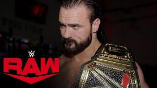 Drew McIntyre revels in win over King Corbin: Raw Exclusive, May 18, 2020