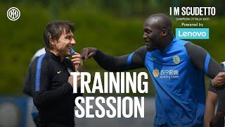INTER vs UDINESE | TRAINING SESSION | Last days of training! | Powered by LENOVO