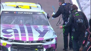 Superman's send-off: Teams salute Jimmie Johnson on pit road | NASCAR Cup Series