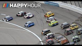 Blown motors, blocking and a playoff shakup | NASCAR Happy Hour | Kansas race in under an hour