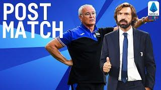 Juventus 3-0 Sampdoria | Pirlo and Ranieri Post Match Press Conference | Serie A TIM