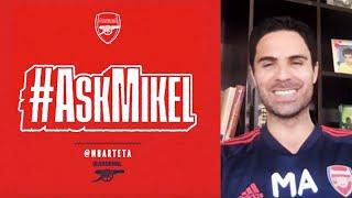 BBQ's, Wenger, Cazorla, and the secret to his hair! | Mikel Arteta answers your questions | Q&A