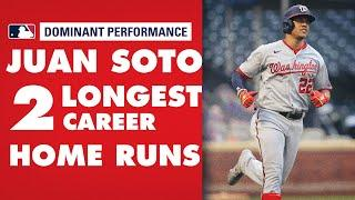 Nationals' Juan Soto hits 2 MOONSHOTS (460+ feet) in 3 days for his 2 longest career HRs