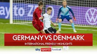 Germany draw as Muller and Hummels return! | Germany 1-1 Denmark | International Friendly Highlights