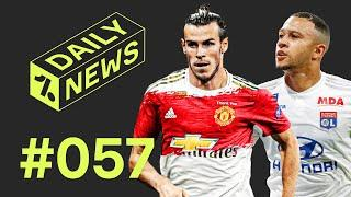Bale OPEN to United move + Depay to join Barcelona THIS WEEK!!  Daily News