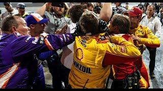 Extended cut: Logano vs. Hamlin from all angles | NASCAR at Martinsville Speedway