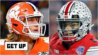 Trevor Lawrence vs. Justin Fields: How close are the top 2021 NFL Draft prospects? | Get Up