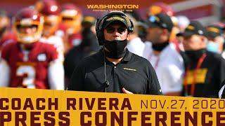 Press Conference: Head Coach Ron Rivera | November 27, 2020