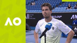 """Cam Norrie: """"It was a phenomenal level!"""" on-court interview (2R) 
