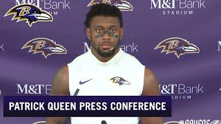 Patrick Queen: I Got Cleated in the Face | Baltimore Ravens