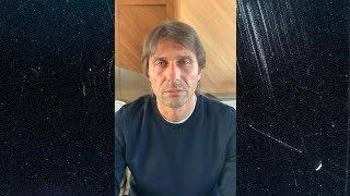 ANTONIO CONTE | A MESSAGE FROM INTER COACH ABOUT THE COVID-19 EMERGENCY | #TogetherAsATeam