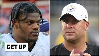 Debating Ravens vs. Steelers to win the AFC North in 2020 | Get Up