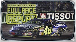 NASCAR Classic Full Race: Jimmie Johnson's first championship | 2006 Homestead-Miami Speedway