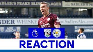 'I'm Very Happy With My Goal'   Timothy Castagne   West Bromwich Albion 0 Leicester City 3
