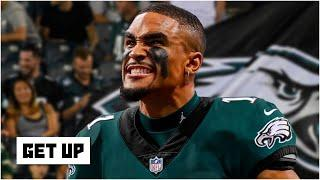 Breaking down how Jalen Hurts can fit into the Eagles' offense with Carson Wentz | Get Up