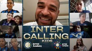 INTER CALLING KIDS | ADRIANO with INTER ACADEMY BRAZIL and INTER CAMPUS  [SUB ITA+ENG]