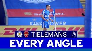 EVERY ANGLE | Youri Tielemans vs. Arsenal | 2020/21