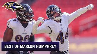 Top 5 Marlon Humphrey Plays Weeks 1-6 | Baltimore Ravens