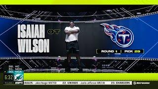 Titans Select Georgia T Isaiah Wilson with No. 29 Pick in 2020 NFL Draft