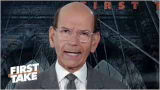 Paul Finebaum on Trevor Lawrence being out for the Clemson vs. Notre Dame matchup | First Take