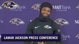 Lamar Jackson Talks About Offense's Improvement | Baltimore Ravens