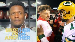 Will Blackmon talks Aaron Rodgers vs. Patrick Mahomes | Brother from Another | NBC Sports