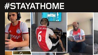#StayHomeWithAjax | Inspiration from our players