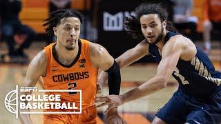 Cade Cunningham scores 29 points in Oklahoma State win [HIGHLIGHTS] | ESPN College Basketball
