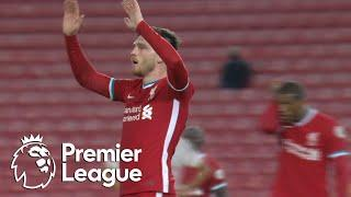 Andy Robertson gets Liverpool in front of Arsenal | Premier League | NBC Sports