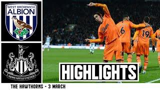 INTO THE QUARTER FINAL!  West Brom 2 Newcastle United 3: Highlights