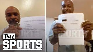 Mike Tyson Signed Roy Jones Fight Contract While Smokin' a Joint | TMZ Sports