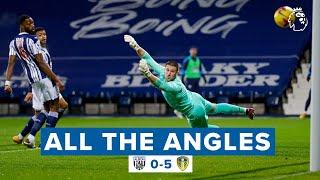 """""""Oh what a strike!"""" ALIOSKI screamer   All The Angles   West Brom 0-5 Leeds United"""