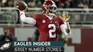 Eagles Draft Class Share the Story Behind their Jersey Numbers | Eagles Insider
