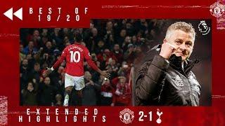 Best of 19/20 | Rashford double sinks Spurs | Manchester United 2-1 Tottenham