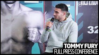 """Deontay Wilder is ruining his legacy"" Tommy Fury on Tyson Fury allegations"