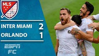 Inter Miami end Orlando City's record unbeaten run without Gonzalo Higuain | ESPN FC MLS Highlights