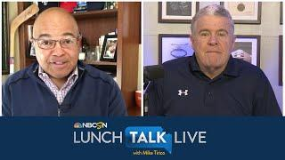 What Peter King, Mike Tirico liked about unconventional NFL draft | Lunch Talk Live | NBC Sports