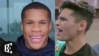 """Ryan Garcia WONT HIT Devin Haney With Those SHOTS"" Bill Haney says, Devin NOT Luke Campbell"