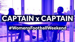 Captain x Captain | Liam Moore and Tash Harding in conversation for #WomensFootballWeekend!