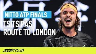 Tsitsipas' Route To London | Nitto ATP Finals | ATP
