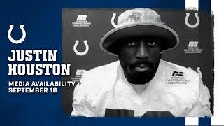 Justin Houston On Defensive Front, Status