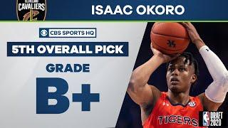 Cavaliers select Isaac Okoro with the 5th overall pick | 2020 NBA Draft | CBS Sports HQ