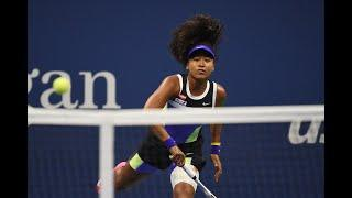 Naomi Osaka shows off her incredible speed! | US Open 2020 Hot Shots