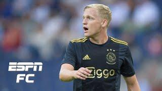 Donny van de Beek can do a little bit of everything for Manchester United - Craig Burley | ESPN FC