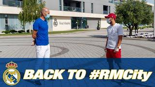 Ramos, Hazard, Zidane and the squad return to Ciudad Real Madrid
