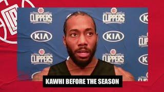 Kawhi Leonard: I'm not saying I'm going anywhere else or staying with the Clippers | NBA on ESPN